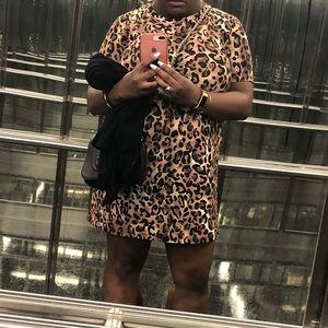 Cheetah Print Zara Dress